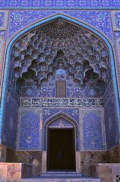 Entrée mosquée Maroc