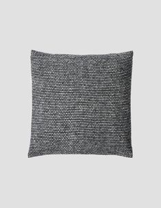 Margaret Howell, Tweed, Merino Wool, Cushions, Textiles, Black And White, Latte, How To Make