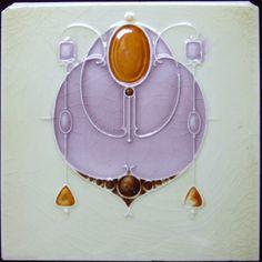 West Side Art Tiles -4478n442p0 - English Tile>