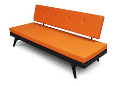 Zucca daybed. Deliciously orange! just for the sake of the color