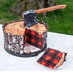 """I'm not man enough to eat this cake<-- """"Not man enough?! NOT MAN ENOUGH?!"""""""
