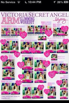 Victoria's Secret Workouts.!!! ❤❤❤