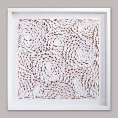 petal power hand cut artwork by love & lily | notonthehighstreet.com