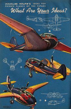 Private Planes of the Future (1944)