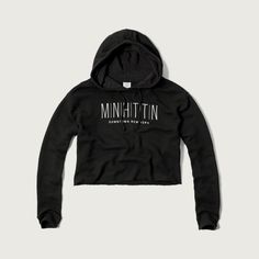 46ed4f5dbe88 Abercrombie   Fitch Destination Graphic Cutoff Hoodie (€27) ❤ liked on  Polyvore featuring