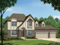 Montego II Elevation E with 3-Car Front Entry Garage