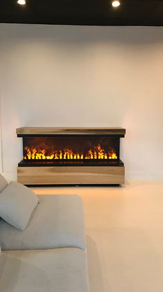Electric Fireplace with Water Vapor Technology Opti-Myst. 100 ...
