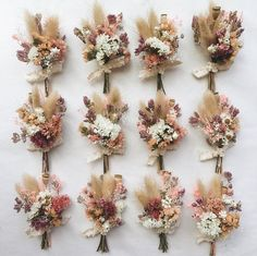 Peach & Plume Boutonniere // Dried Flower Boutonniere wedding flowers – Our wedding ideas Floral Wedding, Diy Wedding, Wedding Bouquets, Dream Wedding, Fall Wedding Boutonniere, Boho Wedding Flowers, Boho Flowers, Rustic Flowers, November Wedding Flowers