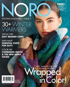 3a1c3f9f4599 The Knitting Needle and the Damage Done  Noro Magazine Issue 7  A Review  Double