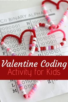 Valentines Day is a a fun time for kids! Use this opportunity to help them grow their minds but checking out the coding