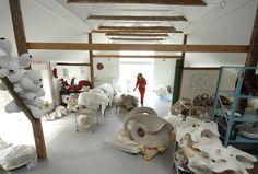Eva Hild ceramic & sculpture studio