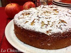 La Chicchina: Torta di mandorle, mele e pere