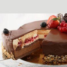 Romanian Desserts, Just Cakes, Sweet Cakes, Chocolate Cake, Sweet Recipes, Bakery, Sweet Treats, Cheesecake, Dessert Recipes