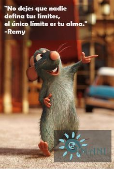 Frase de Ratatouille.
