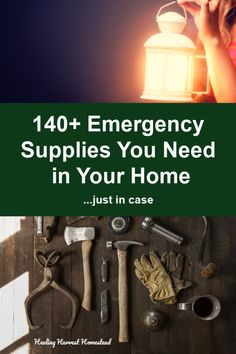 Emergency Supplies Every Home Should Have Just in Case (Who Wants to Freeze, Starve, or Die, Right?) — Home Healing Harvest Homestead - Everything You Need To Know About Survival Skills