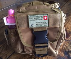 Manly Tactical Diaper Bag for Dad