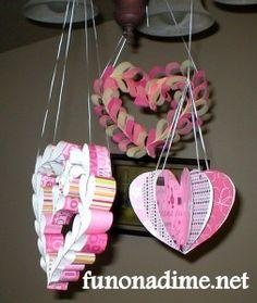 Valentine's Paper Decoration 1