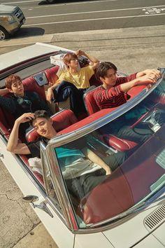 EXO present; gift EXO photobook 'PRESENT; It's like a souvenir from Hawaii that came to EXO on a schedule! Meet various photos of EXO through photobook! Exo Xiumin, Exo Chen, Exo Kai, Exo Ot12, Kpop Exo, Bts And Exo, Chanbaek, Kaisoo, K Pop
