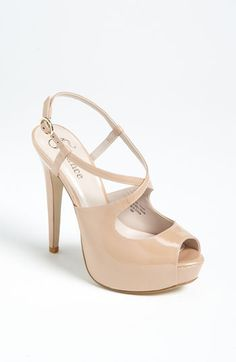 Flounce 'Dazzle' Platform Sandal available at #Nordstrom. I am in-love with these heels!!