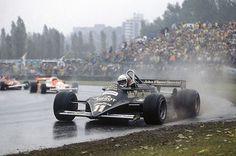 Elio De Angelis su Lotus GP Canada 1981