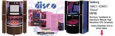"Seeburg SMC1 / ESMC1 ""Disco"" (1978) Brochure, Installation & Operations Manual, High Resolution CPU Schematic"