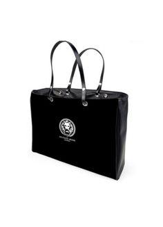 Bolso de mano grande rectangular en color negro para mujer 1f198db29570