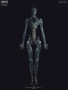 Ghost In The Shell — Vitaly Bulgarov Cyberpunk Character, Cyberpunk Art, Robot Parts, Arte Robot, Sci Fi Armor, Future Soldier, Robot Concept Art, Ex Machina, Robot Design