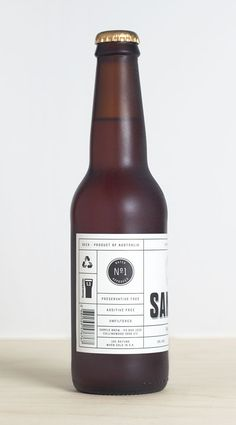 like the idea behind this. makes me think of the tinkering concept. - Sample Brew designed by Longton (Beer Bottle Design) Craft Beer Brands, Craft Beer Labels, Wine Labels, Bottle Labels, Beverage Packaging, Bottle Packaging, Coffee Packaging, Food Packaging, Product Packaging