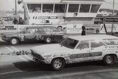Vintage Drag Racing - Grocery Getters