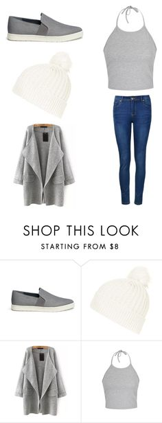 """Untitled #212"" by pauuulis ❤ liked on Polyvore featuring Vince, Topshop and Ally Fashion"
