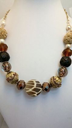 Check out this item in my Etsy shop https://www.etsy.com/listing/290472795/fashion-statement-necklace-large-beads
