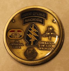 20th Special Forces Group 3rd BN B Co ser # 0022 Army Challenge Coin