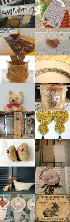 Natural With a Touch of Gold by karen on Etsy--Pinned with TreasuryPin.com #onlineshopping #giftideas #etsytreasury #etsygifts #gifts #etsy