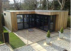 Contemporary garden room