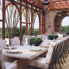 Another great outdoor dining room!