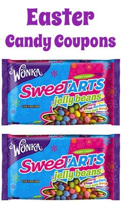 Easter Candy Coupons: $2 off 3 Wonka, $3 off 2 Mars + more!