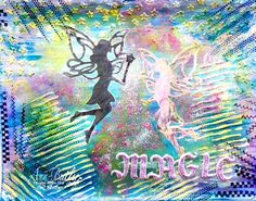 Believe in Magic Art Page - Ann Butler Designs Believe In Magic, Magic Art, Art Pages, Moose Art, Mixed Media, Crafts, Earth, Painting, Animals