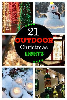 DIY Outdoor Christmas Lighting Ideas - Snowfall - Click Pic for 21 on outdoor water features ideas, outdoor party lights ideas, xmas light ideas, outdoor christmas ideas,