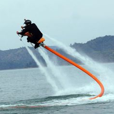 Fancy - Jetovator Water-Propelled Stunt Bike >> Awesome!