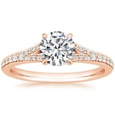 14K Rose Gold Duet Diamond Ring from Brilliant Earth