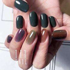 Pin by Kotomi Suzuki on ネイル画像 in 2020 Nail Ring, Nail Manicure, Diy Nails, Cute Nails, Pretty Nails, Nail Polish, Neutral Nail Color, Nail Colors, Finger