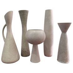 Collection of Vases from Rörstrand, Sweden circa 1950 | From a unique collection of antique and modern vases at https://www.1stdibs.com/furniture/dining-entertaining/vases/