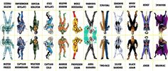 D.C. Villains Character Sheet 060