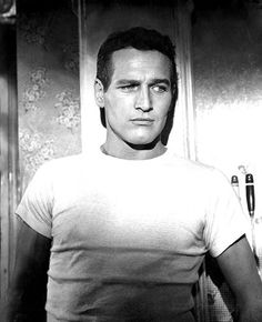Paul Newman pulls it off WAY better than I ever could...but you get the point. The white t-shirt is just classic.