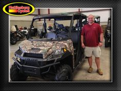 Thank you Brent Rathburn from Frisco City AL for getting a 2017 Polaris Ranger XP 1000 Crew #polaris