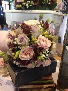 Vintage Country garden wedding bouquet or centerpiece #flowers #wedding
