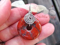 simple wire wrap stone | Love this stone as its cool and heavy to the touch. It is now with its ...