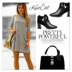 """""""Tunic with pockets (KnitCat Boutique)"""" by shambala-379 ❤ liked on Polyvore featuring Ted Baker and Miu Miu"""