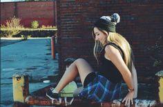 Feeling adventurous  #style #fashion #beanie #vans #cool #blonde #rustuc #photgraphy #artst #hair #blonde #city