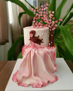 Cake Video - cakes,fondant-Amazing 👍Credit:soheilarizi🍫 Would you guys eat this 😻🍫🍰 Daily posts of Cakes 🍰🍭 For promotions/ads: makingofca Beautiful Birthday Cakes, Gorgeous Cakes, Pretty Cakes, Cute Cakes, Amazing Cakes, Girly Cakes, Fancy Cakes, Unique Cakes, Creative Cakes